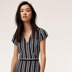 Wilfred Free Maxi Wrap Dress
